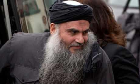 Radical Muslim cleric Abu Qatada