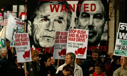 Anti-war Demonstration, London 2002