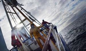 Scottish Trawlermen in the North Atlantic