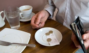 A Guide To Tipping In Restaurants Food The Guardian