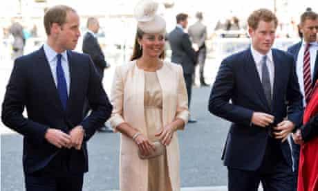 Prince William, Catherine and Prince Harry