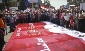 Muslim Brotherhood Rally in Support of President Mohamed Morsy