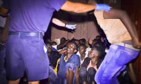 Migrants Rescued by Maltese Armed Forces