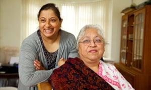 Shazia Hamid, left, and and Rekha Mehra