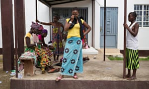 MDG : Women and ebola crisis in Sierra Leone