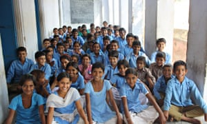 MDG : BMG and Child Labour in India : Children at Raghunathpura primary school