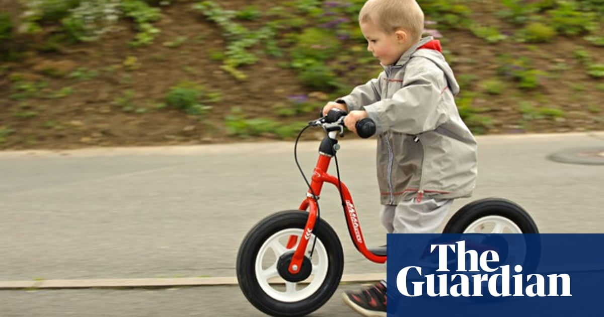 7a77088e4fe Why my son rides a balance bike | Victoria Hazael | Environment ...