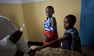 MDG : GAVI immunisation against measles and rubella in the Losikito district , Tanzania