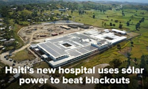 #itshappening project by 10:10 : Solar power for hoospital in Haiti