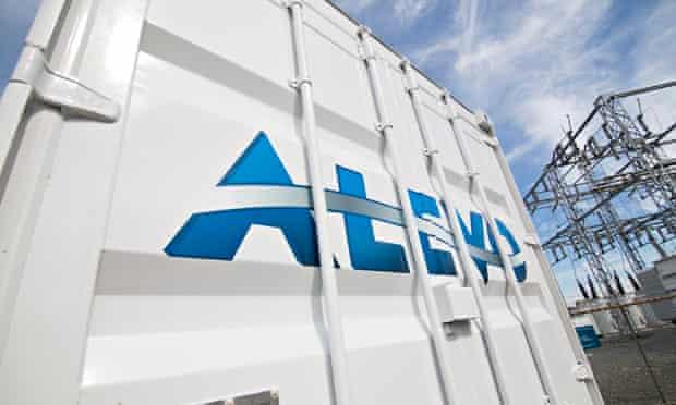 Alevo Gridbank energy storage solution