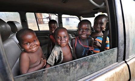 MDG : LLDC : Central African Republic : Children IDPs