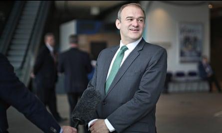 Lib Dem Energy Secretary Ed Davey
