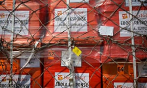 MDG : Ebola reponse and funding : US aid supplies