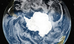 Why Is Antarctic Sea Ice At Record Levels Despite Global Warming - Satellite map of antarctica