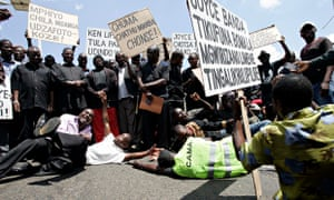 MDG : Malawi Corruption Government Economy : protest aagain corruption