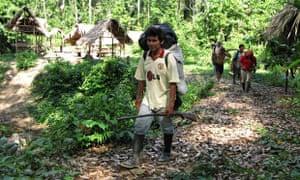 Peruvian anti-logging activist Edwin Chota, Saweto, Peru