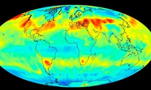 Global Carbon Dioxide Transport from AIRS Data, July 2009