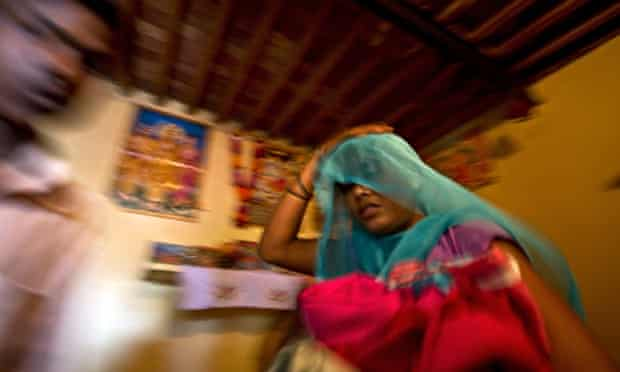 An alleged human-trafficking victim is rescued from a village in India, where women are tricked into different forms of slavery ranging from domestic service to prostitution.
