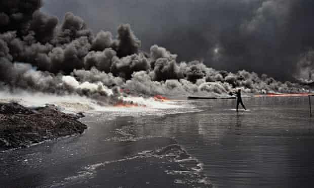 Environmental impact of modern war