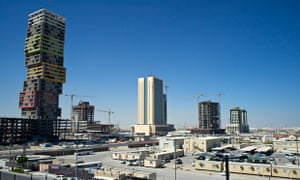 MDG : Forced labour in Qatar : Lusail City, a vast new metropolis built from scratch in the desert