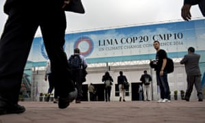 COP20 : People arrive to the Climate Change Conference in Lima, Peru