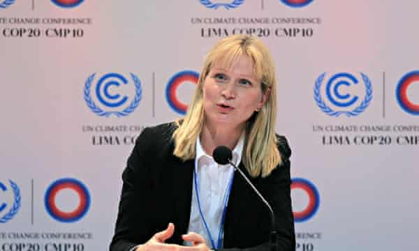 COP20 Summit in Lima : European Comission negotiator chief, Elina Bardram