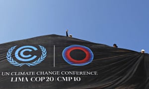 United Nations Conference about Climatic Change COP20 in Lima, Peru
