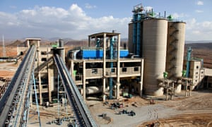 MDG : UK Aid development programme : DFID  New cement factory opens in Ethiopia