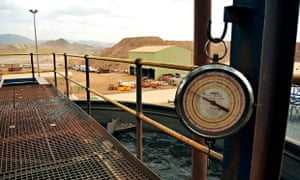 MDG : Eritrea gold, copper and zinc mine Bisha mine :