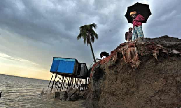 Cost of Climate change: Coatal erosion in Bangladesh as Padma River continues to devour banks