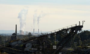Australia worst climate change country : Pty's Yallourn coal fired power station