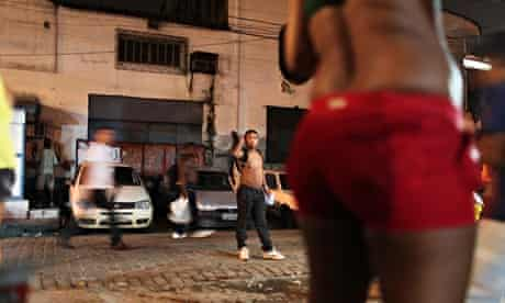 MDG : Brazil sex workers in Rio de Janeiro