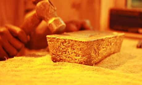 MDG : Tongon gold mine in northern Ivory Coast