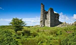 Country Diary : Ruined engine house from Phoenix mine on Caradon Hill near Minions on Bodmin Moor.