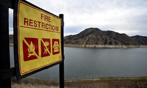 Fire in California  : Drought emergency declared in California
