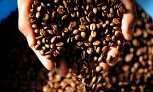 Climate change and coffee farming : roasted coffee beans