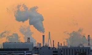 IPCC meeting in Yokohama : CO2 emissions Japan sets new greenhouse gas emissions reduction target