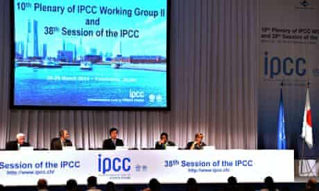 IPCC meeting in Yokohama : Japanese Environment Minister Nobuteru Ishihara