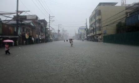 IPCC in Yokohama : Climate change and floods in Manila, Philippines