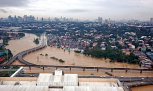 IPCC in Yokohama : Climate change and floods in Manila, Philippines