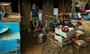IPCC meeting in Yokohama :  Massive Cleanup Begins In Flood Hit Manilla, Philippines