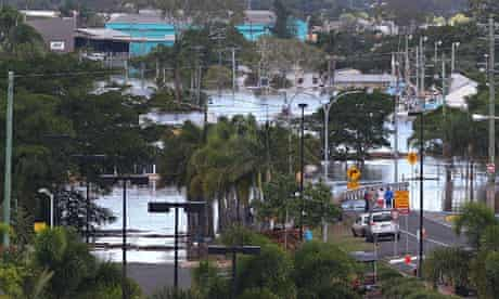 Planet Oz blog on Climate report : record flooding, Queensland, Australia