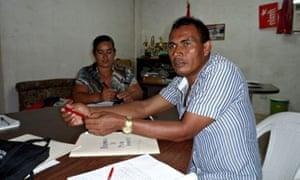 MDG :  Pacific Rim mining in El Salvador : Nueva Trinidad mayor