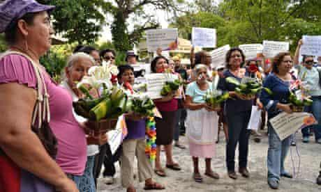 MDG : abortion in El Salvador. : Pro-abortion campaigners