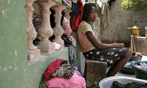 MDG : ASI (anti slavery international) 175th birthday : Mideleine a child domestic worker in Haiti