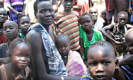 MDG : UNHCR south sudan refugee camp of Kule in Ethiopia Gambella region