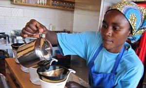 MDG : Inzozi Inziza, Sweet Dreams, first local ice cream shop in Rwanda