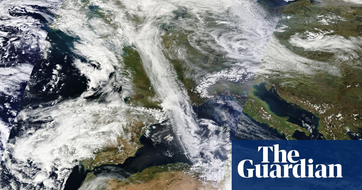 Red dust trail from North Africa to Europe - big picture ...