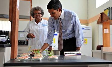 MDG : USAID development lab : Dr. Rajiv Shah visit Bas Boen Rural Center for Sustainable Development