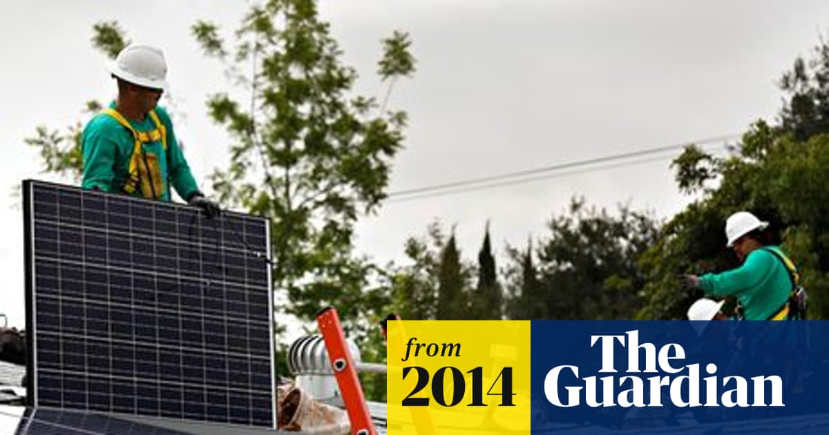 Solar industry leads 14% rise in renewables jobs, global